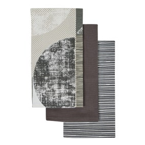 Pack of 3 Elements Darks Tea Towels