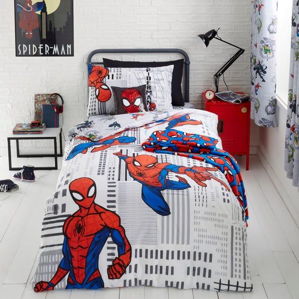 Disney Marvel Spider-Man Duvet Cover and Pillowcase Set  undefined
