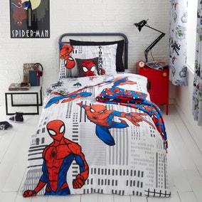 Disney Marvel Spider-Man Duvet Cover and Pillowcase Set