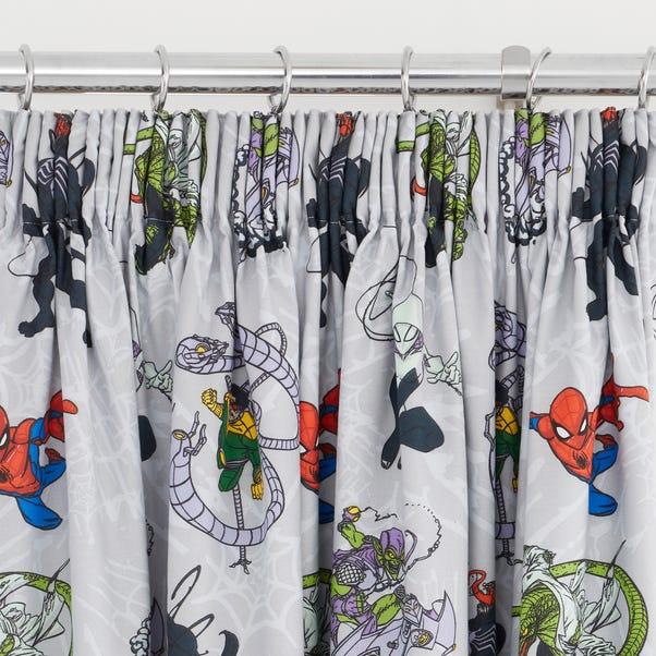 Disney Marvel Spider-Man Pencil Pleat Blackout Curtains  undefined