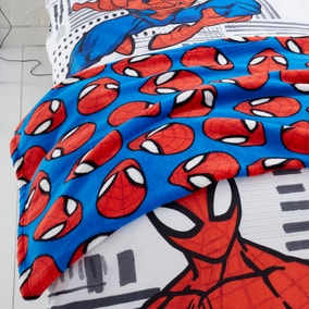Disney Marvel Spider-Man Fleece Blanket