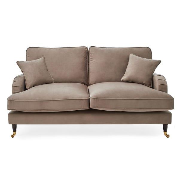 Rupert 2 Seater Velvet Sofa Cedar