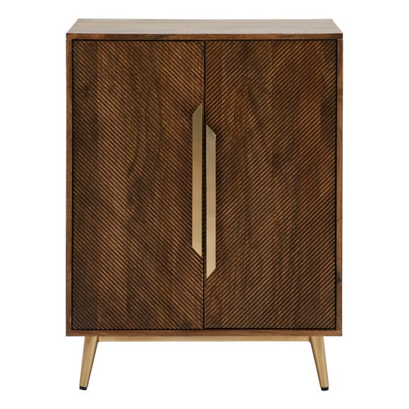 Anya Cabinet Dark Wood (Brown)
