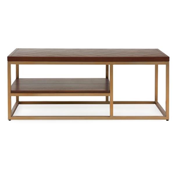 Anya Coffee Table Dark Wood (Brown)