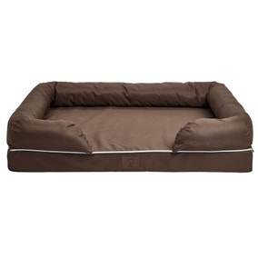 Bunty Brown Waterproof Cosy Couch Dog Bed