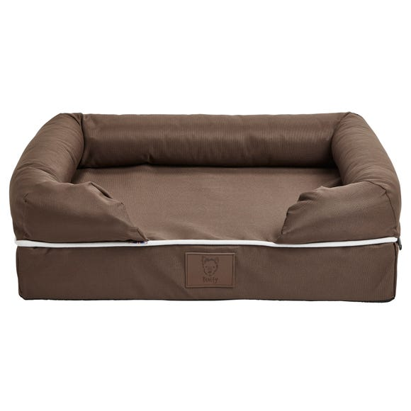 Bunty Brown Waterproof Cosy Couch Dog Bed  undefined