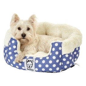 Bunty Blue Deep Dream Dog Bed
