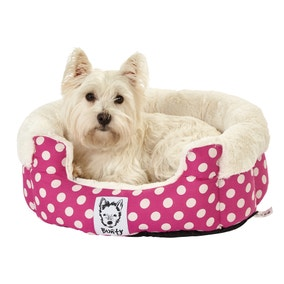 Bunty Pink Deep Dream Dog Bed