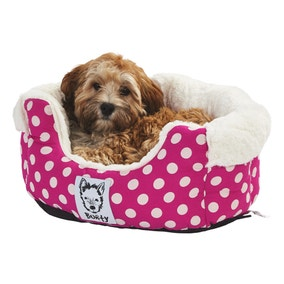 Bunty Pink Deep Dream Dog Bed