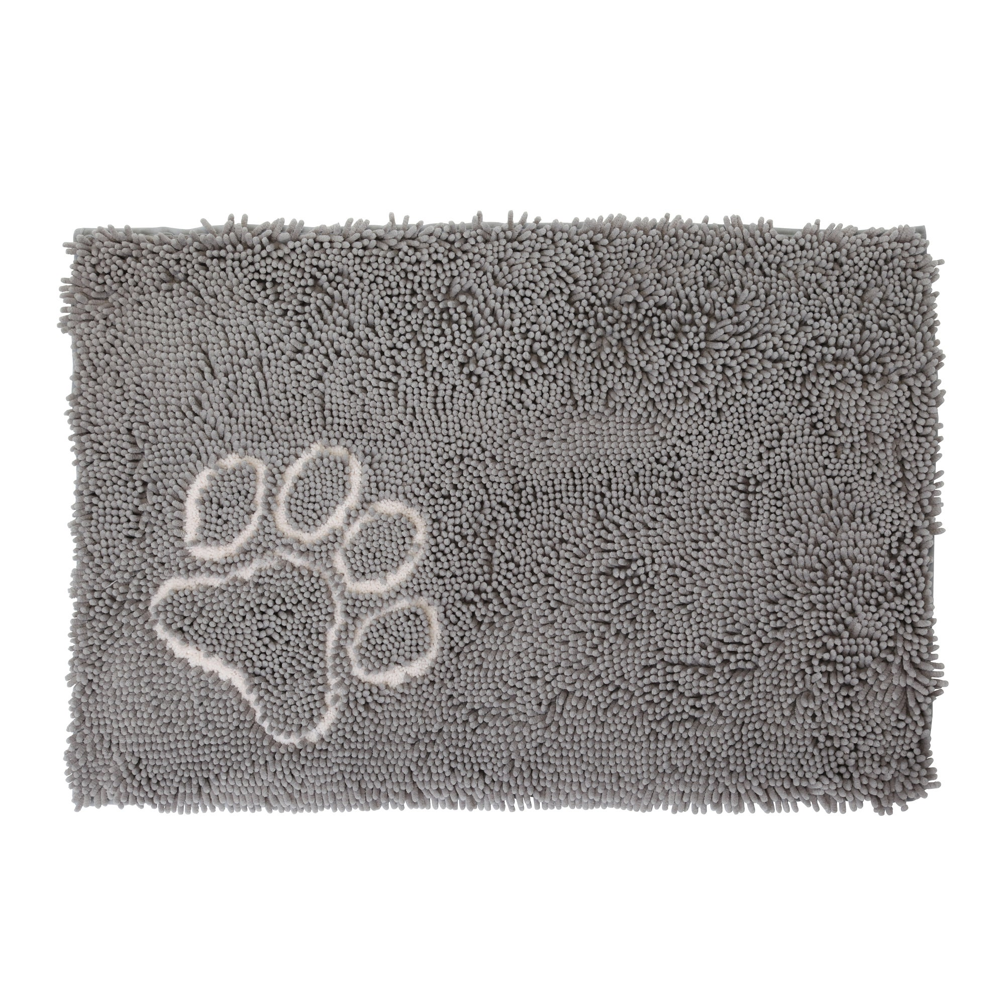 Bunty Long Pile Microfibre Pet Mat Grey