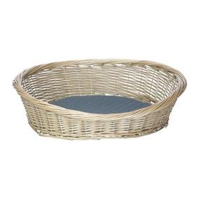 Bunty Wicker Dog Basket