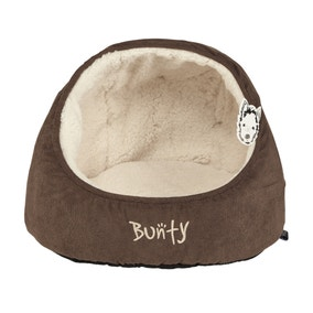 Bunty Brown Snuggery Cat Bed