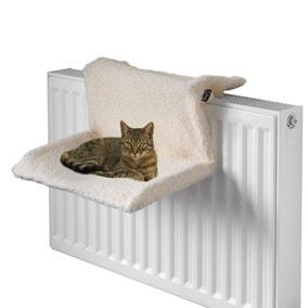 Bunty Cream Radiator Cat Bed