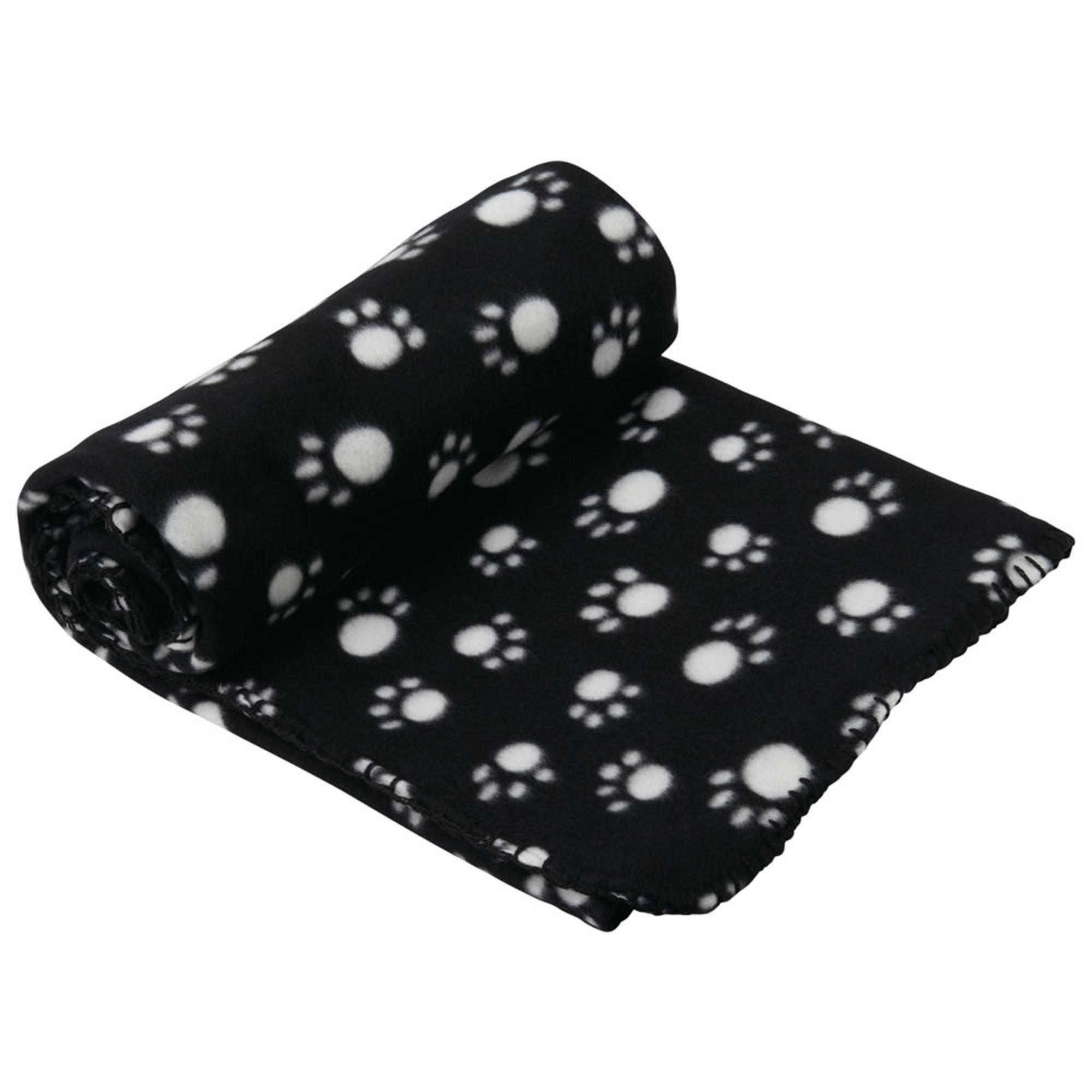 Extra Large Black Dog Blanket Black