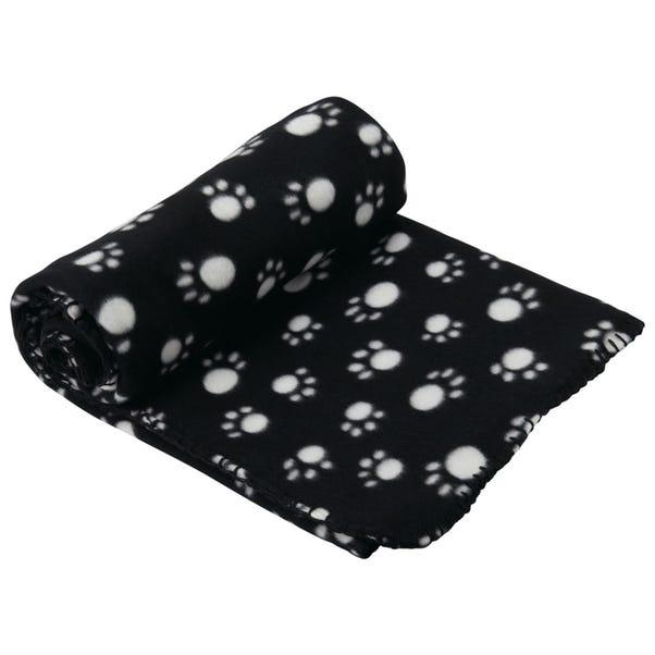 Extra Large Black Dog Blanket
