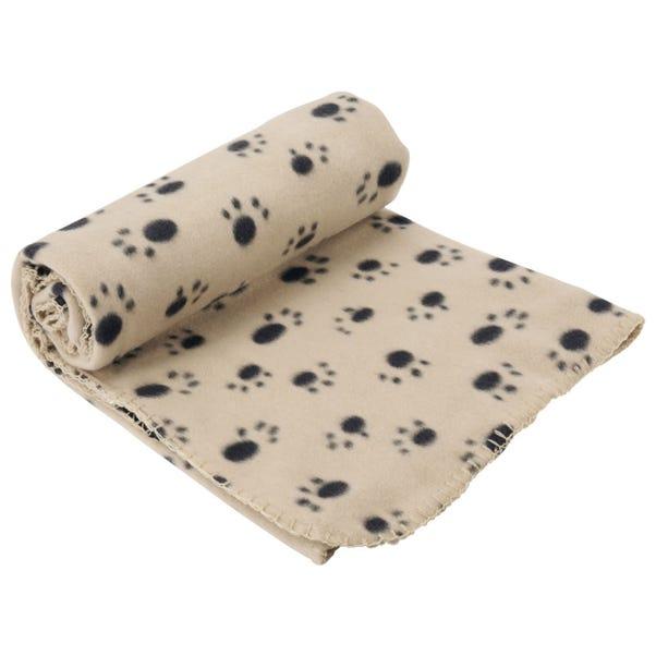 Extra Large Cream Dog Blanket