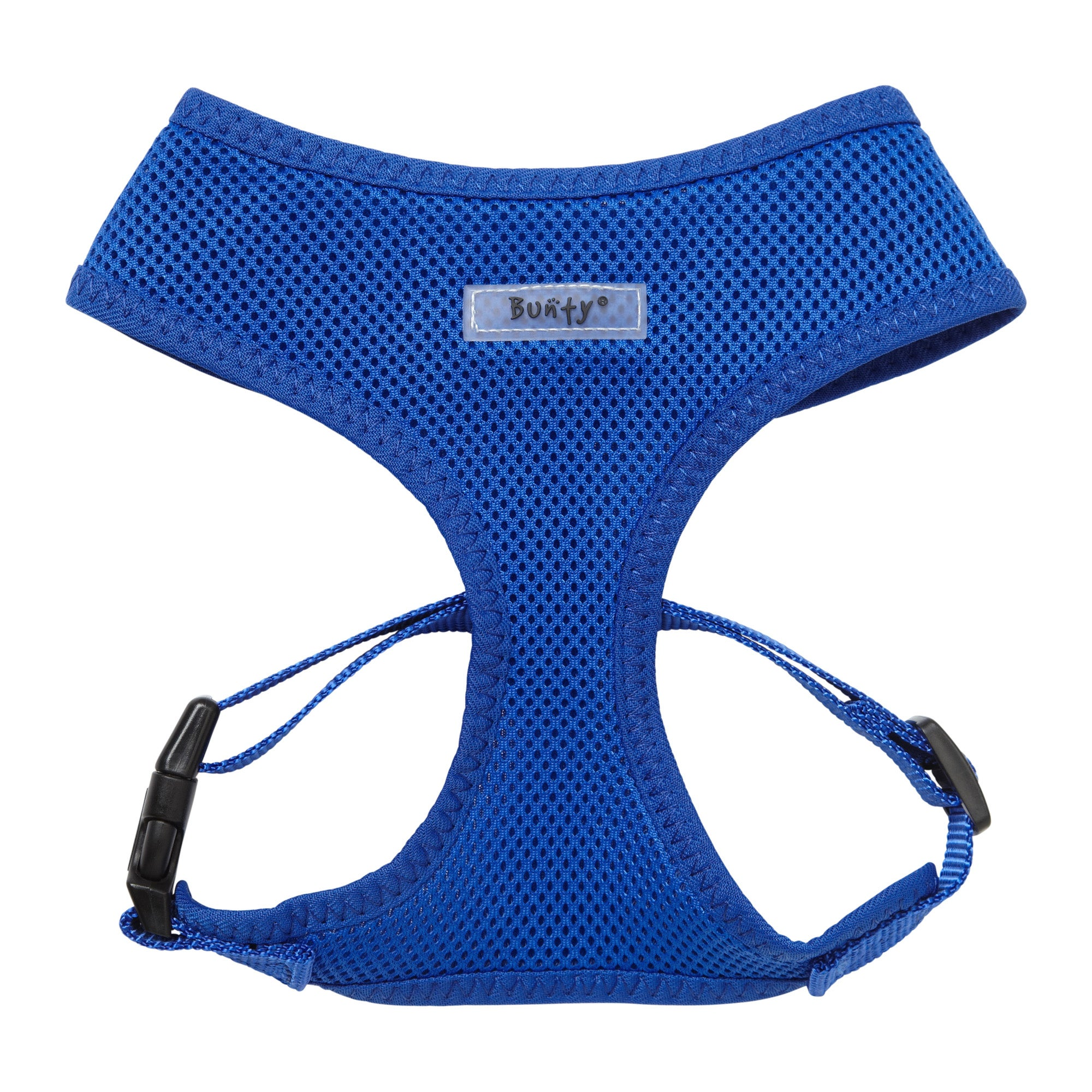 Bunty Blue Mesh Dog Harness Blue