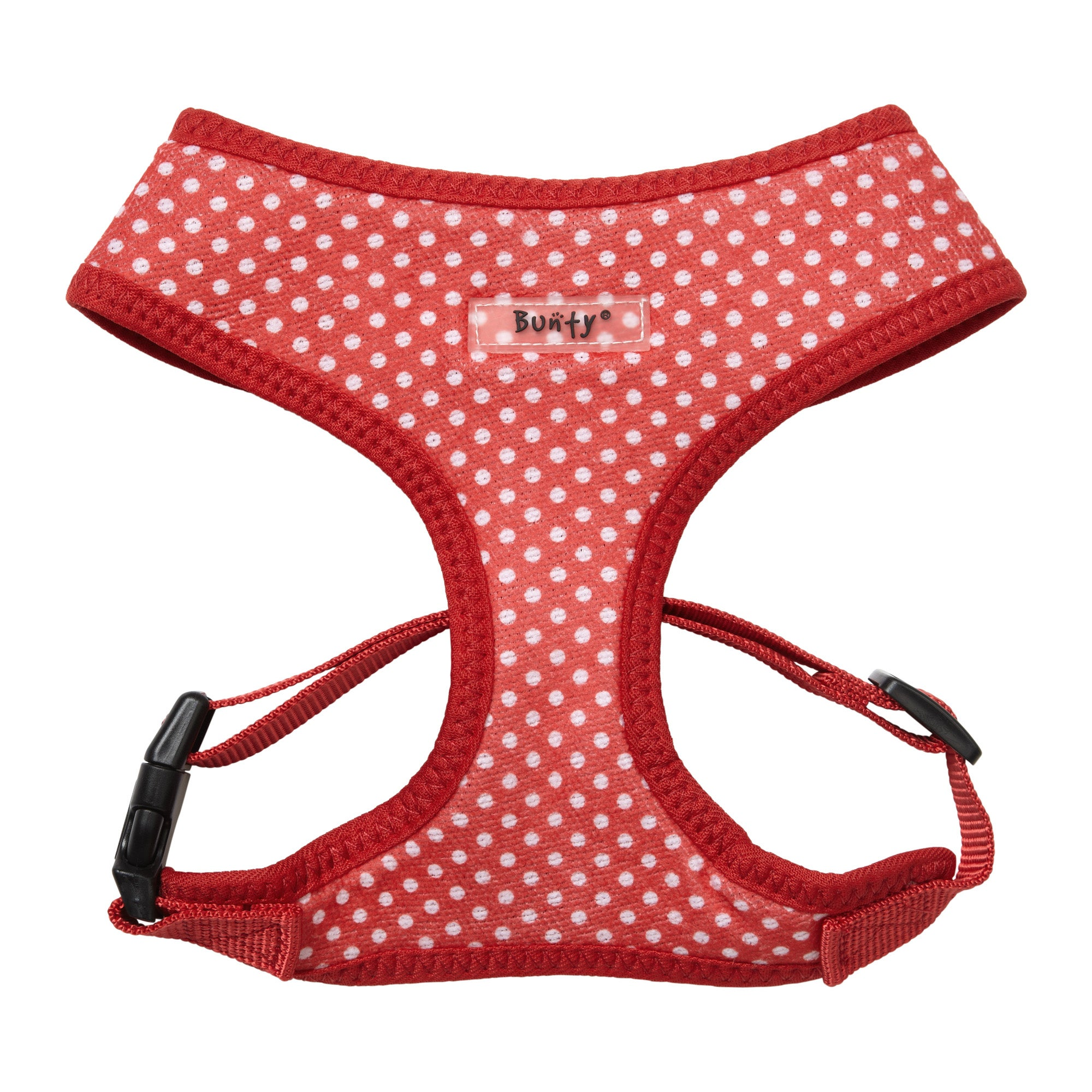 Bunty Polka Dot Mesh Dog Harness Asstd