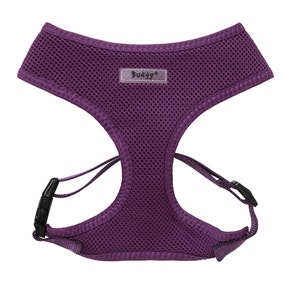 Bunty Purple Mesh Dog Harness