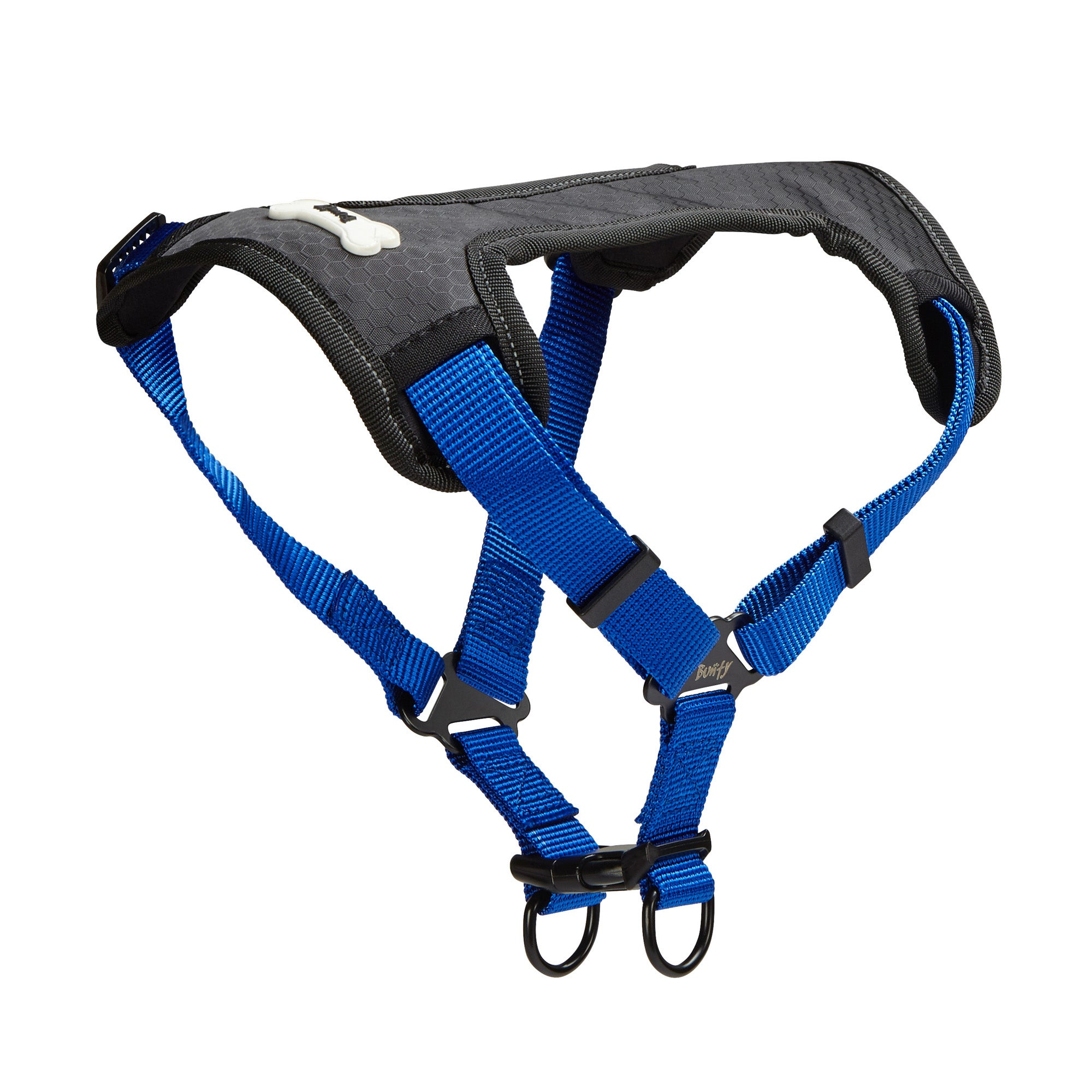 Bunty Blue Strap 'N' Strole Dog Harness Blue