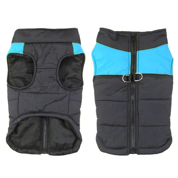 Bunty Blue Dog Puffer Jacket  undefined
