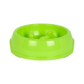 Bunty Green Slow Feeder Bowl