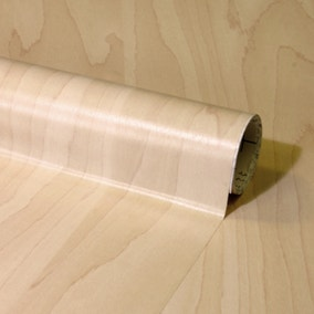 Fablon Pale Beech Wood Effect Sticky Back Plastic