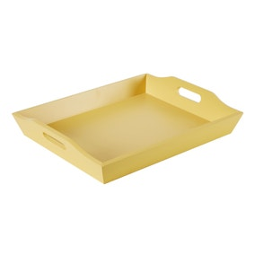 Yellow Wooden Lap Tray