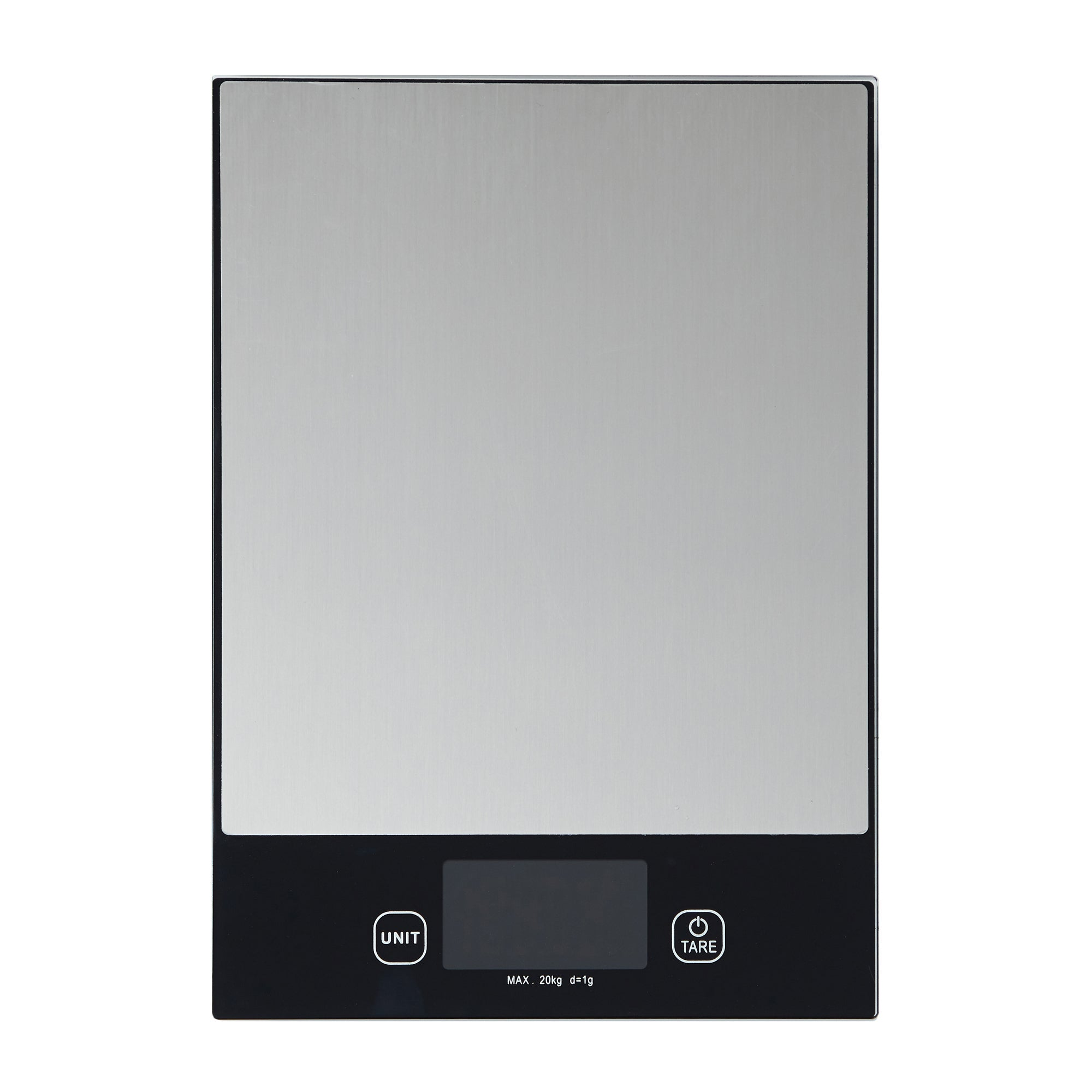 Click to view product details and reviews for Dunelm Jumbo Electronic Kitchen Scales Silver And Black.