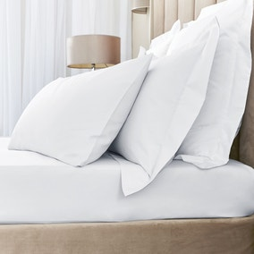 Hotel Egyptian Cotton 230 Thread Count Sateen Fitted Sheet
