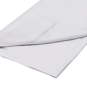 Dorma 500 Thread Count 100% Cotton Sateen Plain Flat Sheet