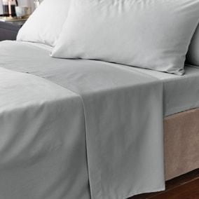 Hotel Egyptian Cotton 230 Thread Count Sateen Flat Sheet