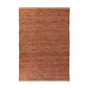 Jute Terracotta Woven Rug