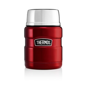 Thermos Stainless King 470ml Red Food Flask