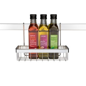 Hahn Metro Single Shelf Metal Storage Basket Accessory