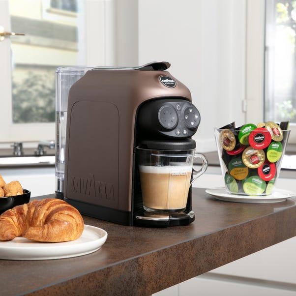 Lavazza Coffee Lavazza Desea Walnut Coffee Machine Brown