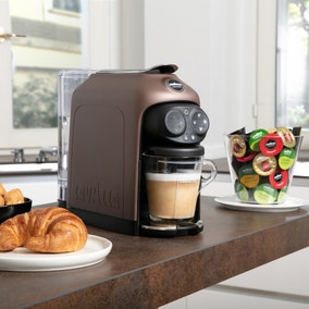 Lavazza Coffee Lavazza Desea Walnut Coffee Machine