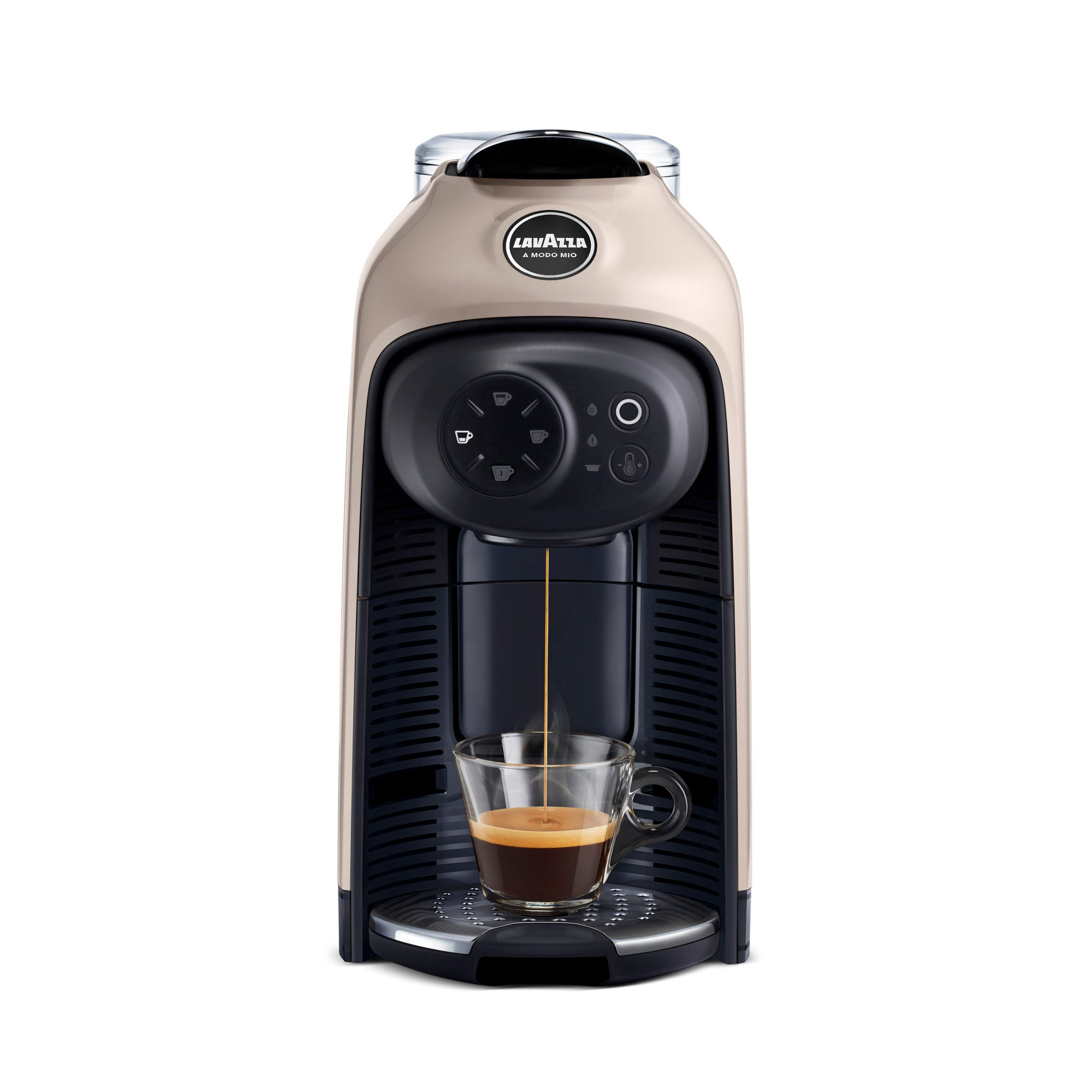 Click to view product details and reviews for Lavazza Coffee Lavazza Idola Greige Coffee Machine Beige And Black.