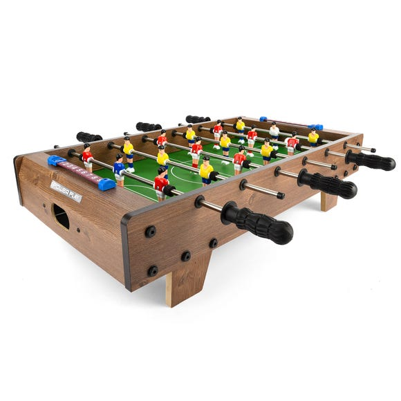 """27"""" Table-Top Table Football Game Brown"""
