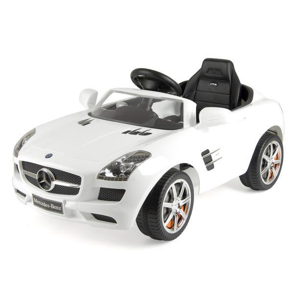 Mercedes SLS AMG Ride On Car White