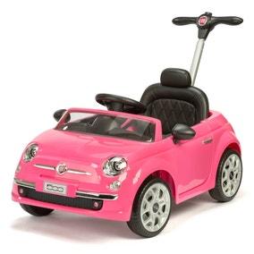 Fiat 500 Pink Push Ride On Car