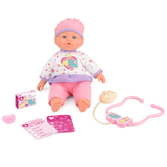 Snuggles Care for Sara Interactive Doll MultiColoured