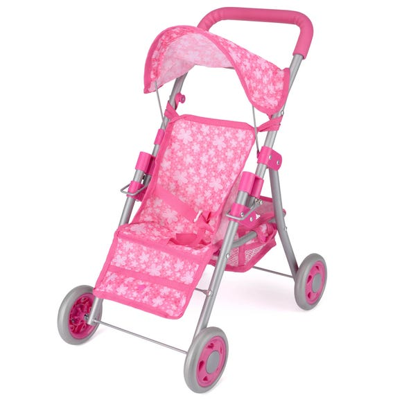 Snuggles Pink Deluxe Dolls Buggy Pink