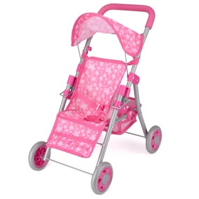 Snuggles Pink Deluxe Dolls Buggy