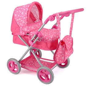 Snuggles Pink Deluxe Doll Pram