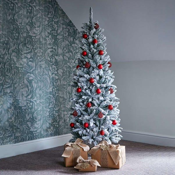 6ft Snowy Kingswood Fir Christmas Tree Green