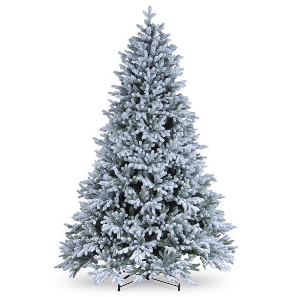 6ft Feel Real Snow-Dusted Christmas Tree White