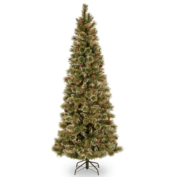 6.5ft Sparkling Pine Christmas Tree Green