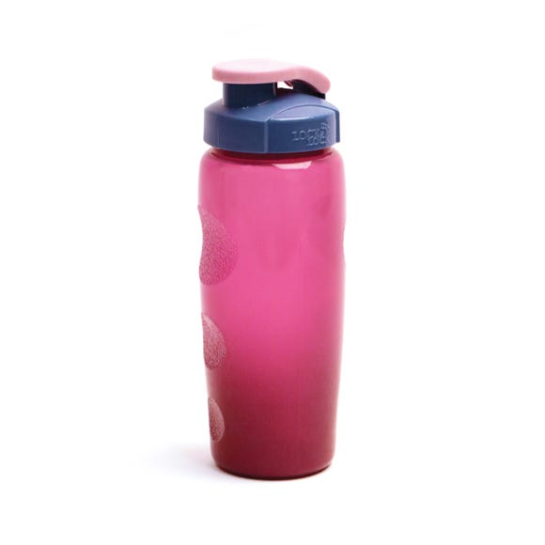 Lock & Lock Eco 500ml Water Bottle Dark Pink