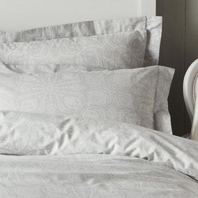 Holly Willoughby Zuri Grey Oxford Pillowcase